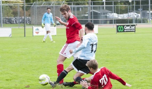 Oostrum verloor zondag met 2-4 van Kwiek Venlo. Foto Lotte Kamphuis.