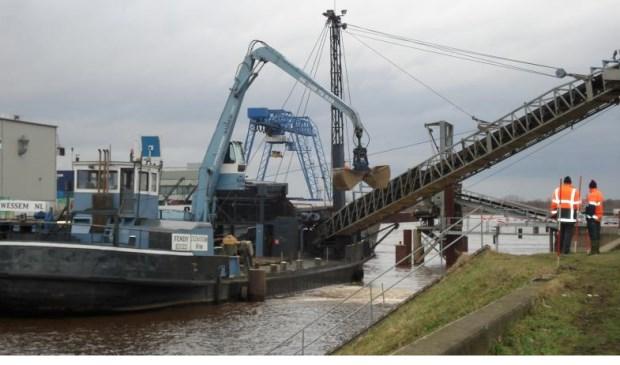 De industriehaven in Wanssum wordt uitgebreid. Foto: archief Peel en Maas.