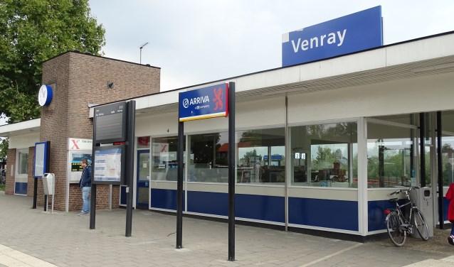 Ook op het station in Venray komen nieuwe in- en uitcheckpalen. Foto: archief Peel en Maas.