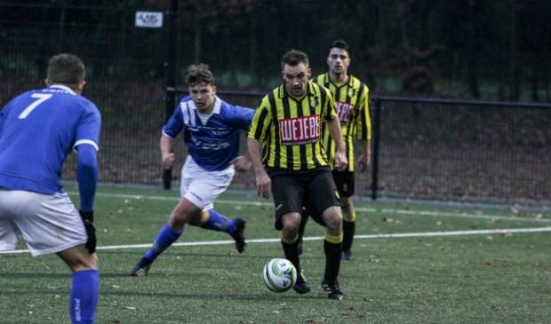 BVV'27 was zondag te sterk voor SV United: 1-3. Foto: Simone Swinkels.