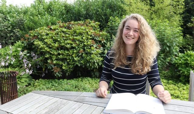 Rosalie van Casteren vertrok vorige week naar Amerika voor een bijzondere stage. Foto: Henk Lammen.