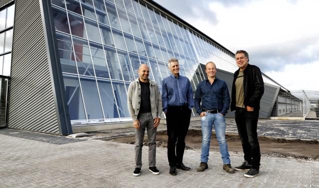De trotse initiatiefnemers voor de Kipster, die vrijdag officieel wordt geopend. Foto: Rikus ten Brücke.