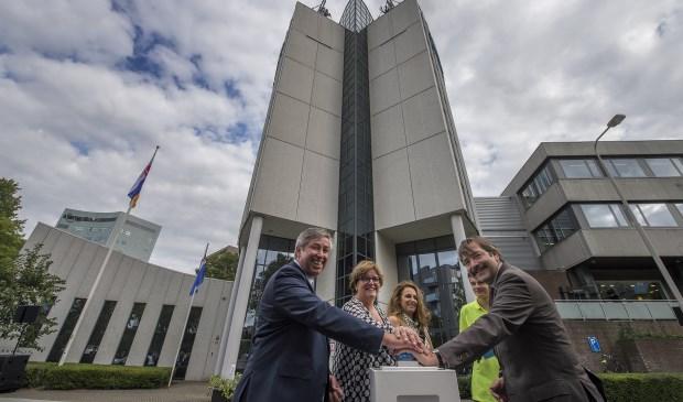 De opening van het nieuwe kantoor van Waterschap Limburg. Foto: Johannes Timmermans.