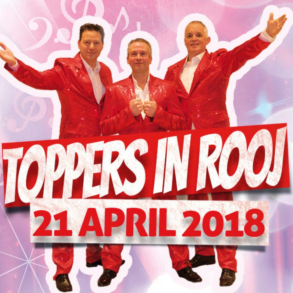 toppers in rooj op zaterdag 21 april