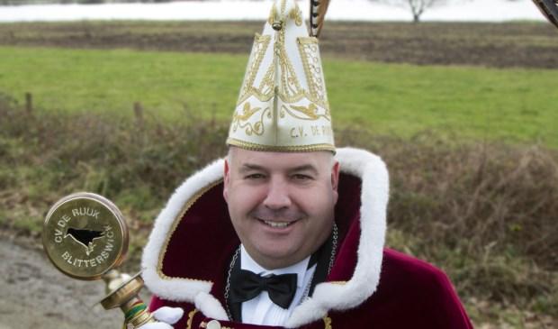 Ard Vissers is uitgeroepen tot prins van de Ruuk. Foto: Myrna Hendrickx.