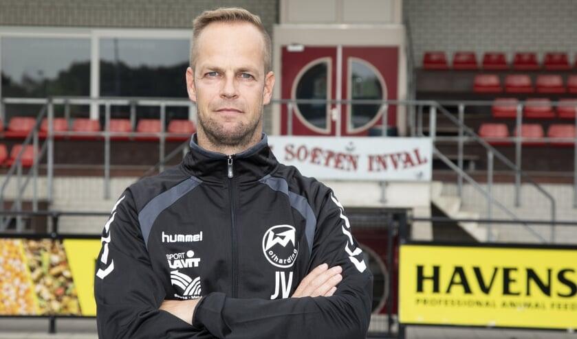 Johan Vullings is ook volgend jaar hoofdtrainer bij Volharding.