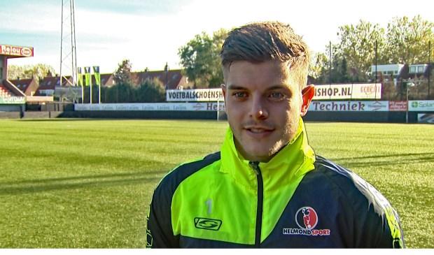 Helmond Sport-doelman Stijn van Gassel. Foto: Wim Wijnhoven
