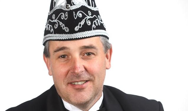Roel Wismans is de nieuwe vorst van  De Schânseknuppels. Foto: Fotohuis Venray.