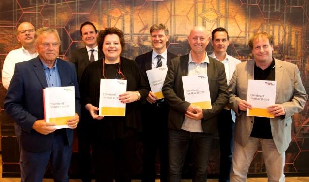 Het convenant Venray Bloeit is maandag ondertekend door alle deelnemers.