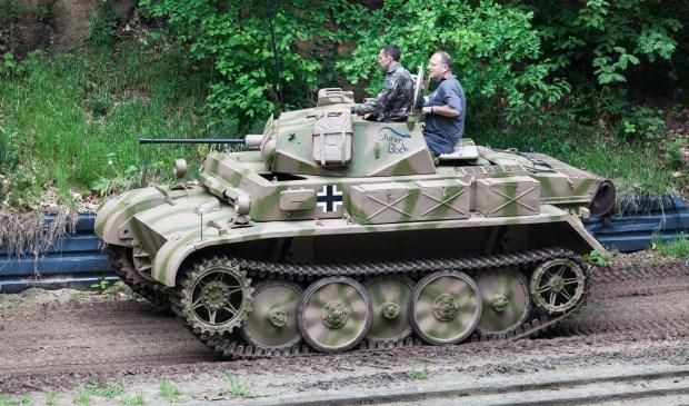 Een Duitse Panzer II. Foto: Peter Damen.
