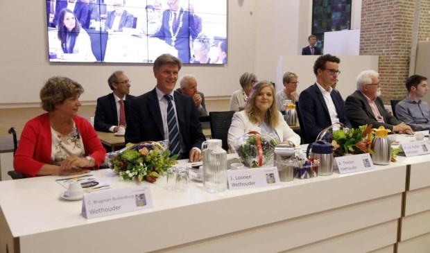 Van links naar rechts: Carla Brugman, Jan Loonen, Anne Thielen en Martijn van der Putten. Foto: Rikus ten Brücke
