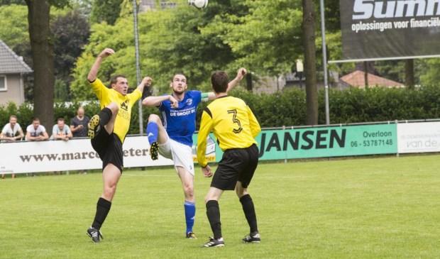 SSS'18 speelde gelijk in het  thuisduel met  Erp: 2-2. Foto: Jolijn van Goch.