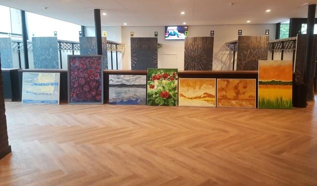 Marie Thissen-Asselberghs exposeert haar werken in de Venrayse schouwburg.