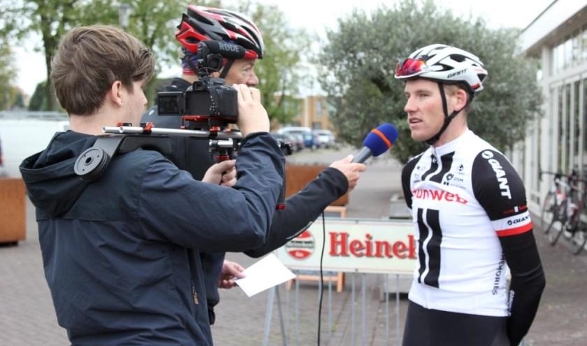 Mike Teunissen kwam dinsdag hard ten val in de Ronde van Polen. Foto: archief Peel en Maas