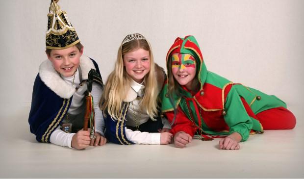 Dit trio voert de jeugd van Ut Dartele Veulen aan.  Foto's : Marieta fotografie