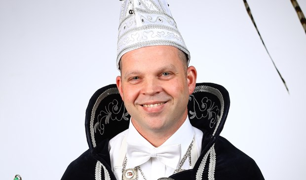 Prins John I van De Schânseknuppels in Castenray. Foto: Fotohuis Venray.