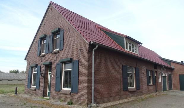 De woning aan de Antoniusstraat 20 in Blitterwijck.