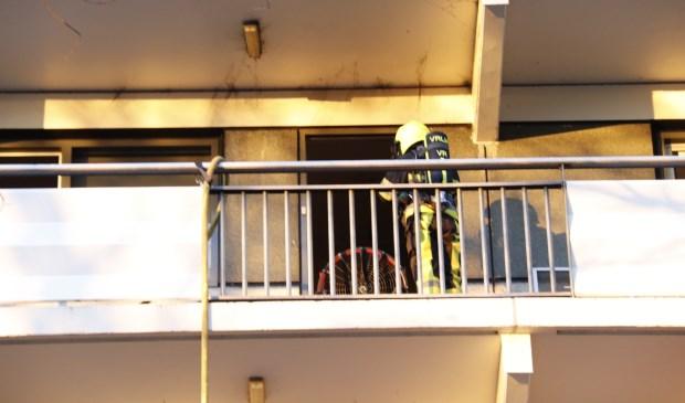 De brandweer was snel ter plaatse. Foto: SK-Media