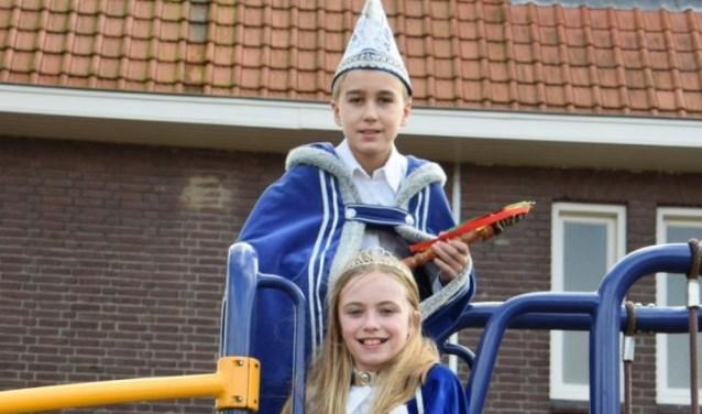 Prins Niek Peter en prinses Fem Classens.