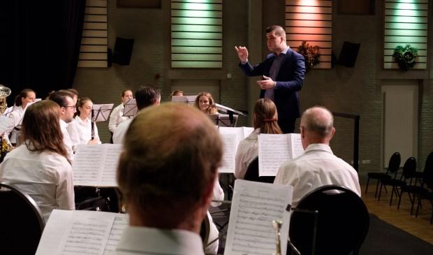 Thom Roosen is de nieuwe dirigent van Euterpe. Foto: Annemarie Janssen.
