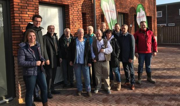 Maandagochtend zijn aan de eerste bewoners van het nieuwbouwproject Zuidsingel in Venray de sleutels uitgereikt.