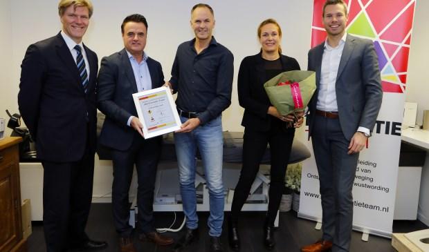Hét Preventie Team werd in 2018 uitgeroepen tot Starter van het derde kwartaal. Foto: Rikus ten Brücke.