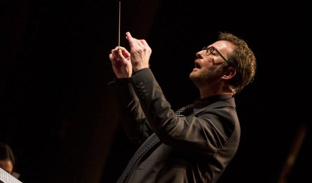Marc Koninkx is gestopt als dirigent van Euterpe. Foto: Jolijn van Goch