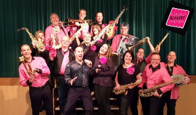Orkest SjanTé komt op zaterdag 18 mei in actie voor Wensambulance Limburg.