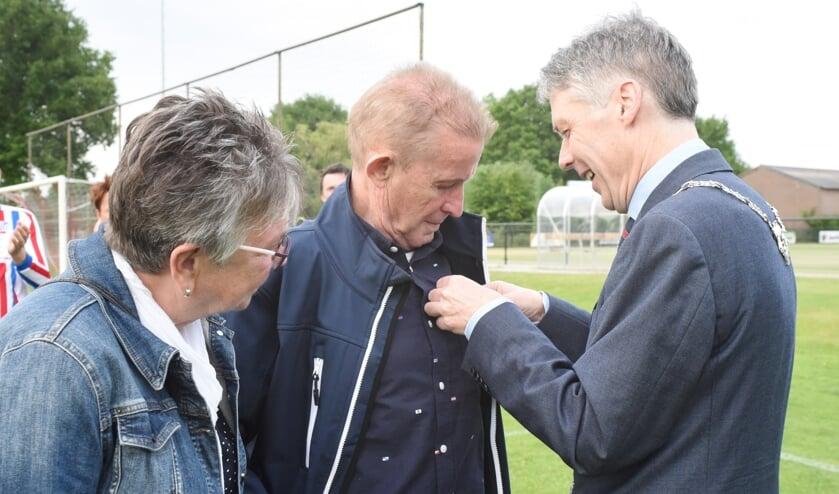 Koninklijke onderscheiding voor Harry Voermans uit Oirlo.