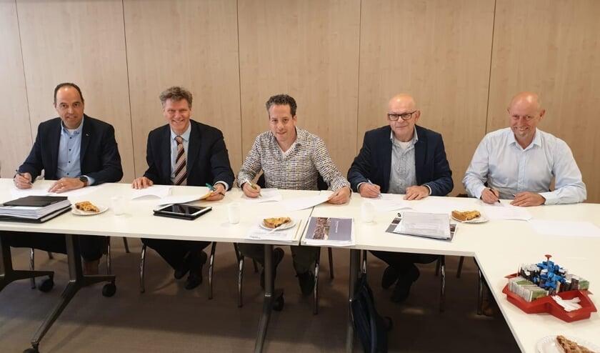 Ondertekening convenant Venray Bloeit.