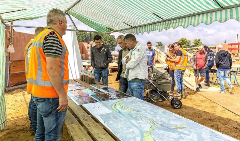 De Dag van de Bouw trok ruim 1100 belangstellenden naar Gebiedsontwikkeling Ooijen-Wanssum.