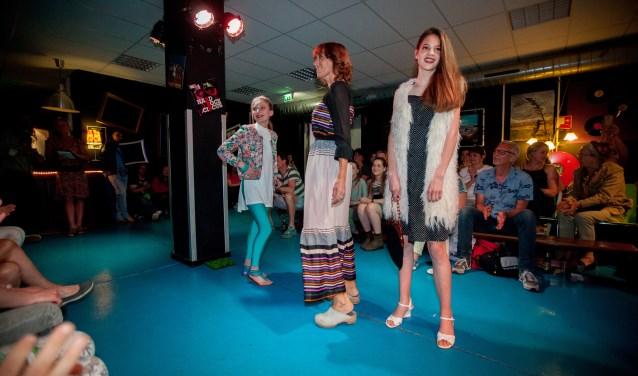 De modeshow van GoedvoorGoed. Foto: Jaap Reedijk
