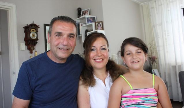 Fadi, Ghida en Dana Kahil voelen zich thuis in Stad aan 't Haringvliet.