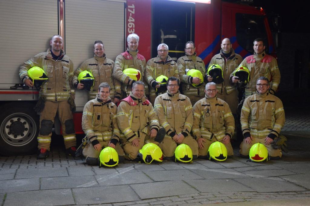 Het brandweerkorps van Nieuwe-Tonge.  ©