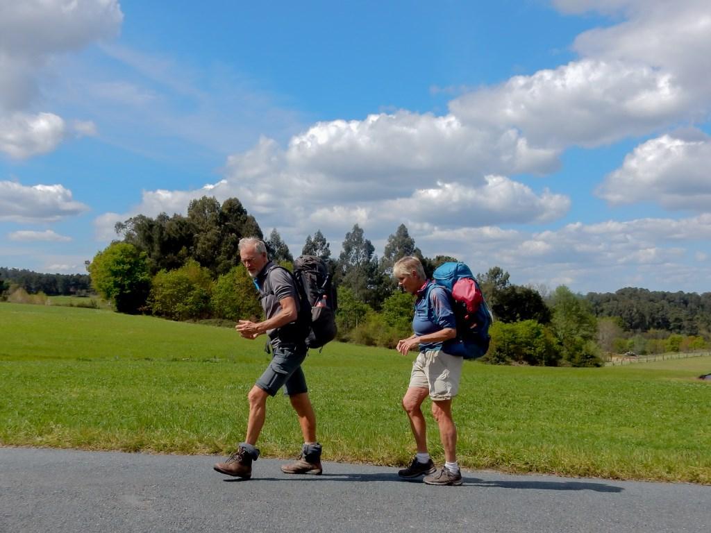 De tocht van 1100 kilometer werd afgelegd in 47 wandeldagen.  ©