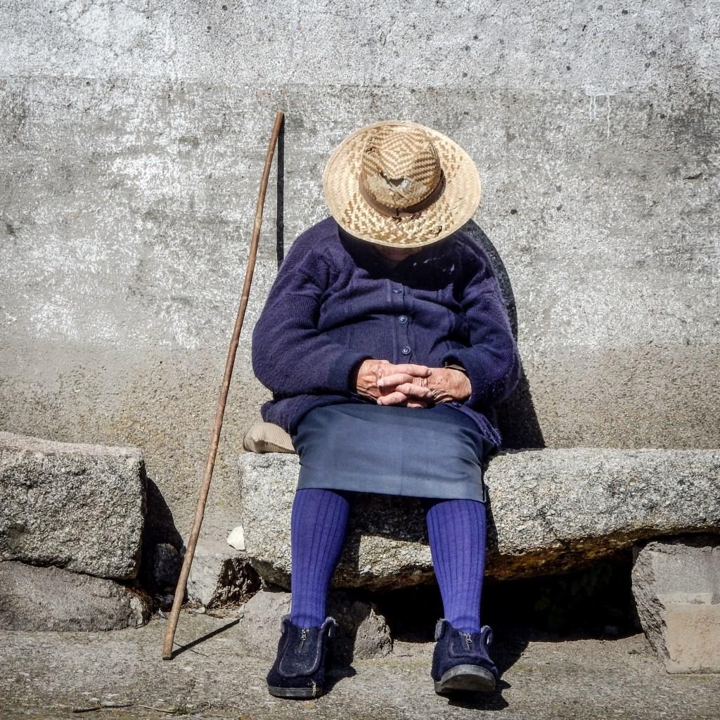 Straatbeeld in de Extremadura.  ©