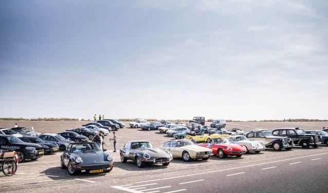 Bij de finish van de eerste Rotary GO Rally, in 2018.