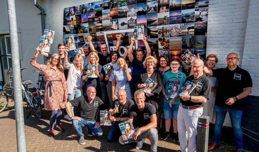 De feestelijke lancering vond plaats in de Victoriahal in Dirksland. Foto: Jaap Reedijk