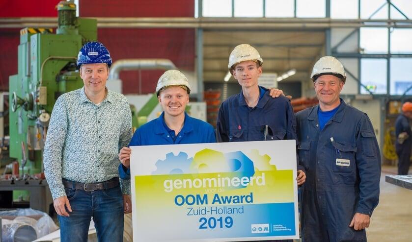 Bij Padmos in Stellendam zijn ze blij met de nominatie. Foto: Olivier Huisman