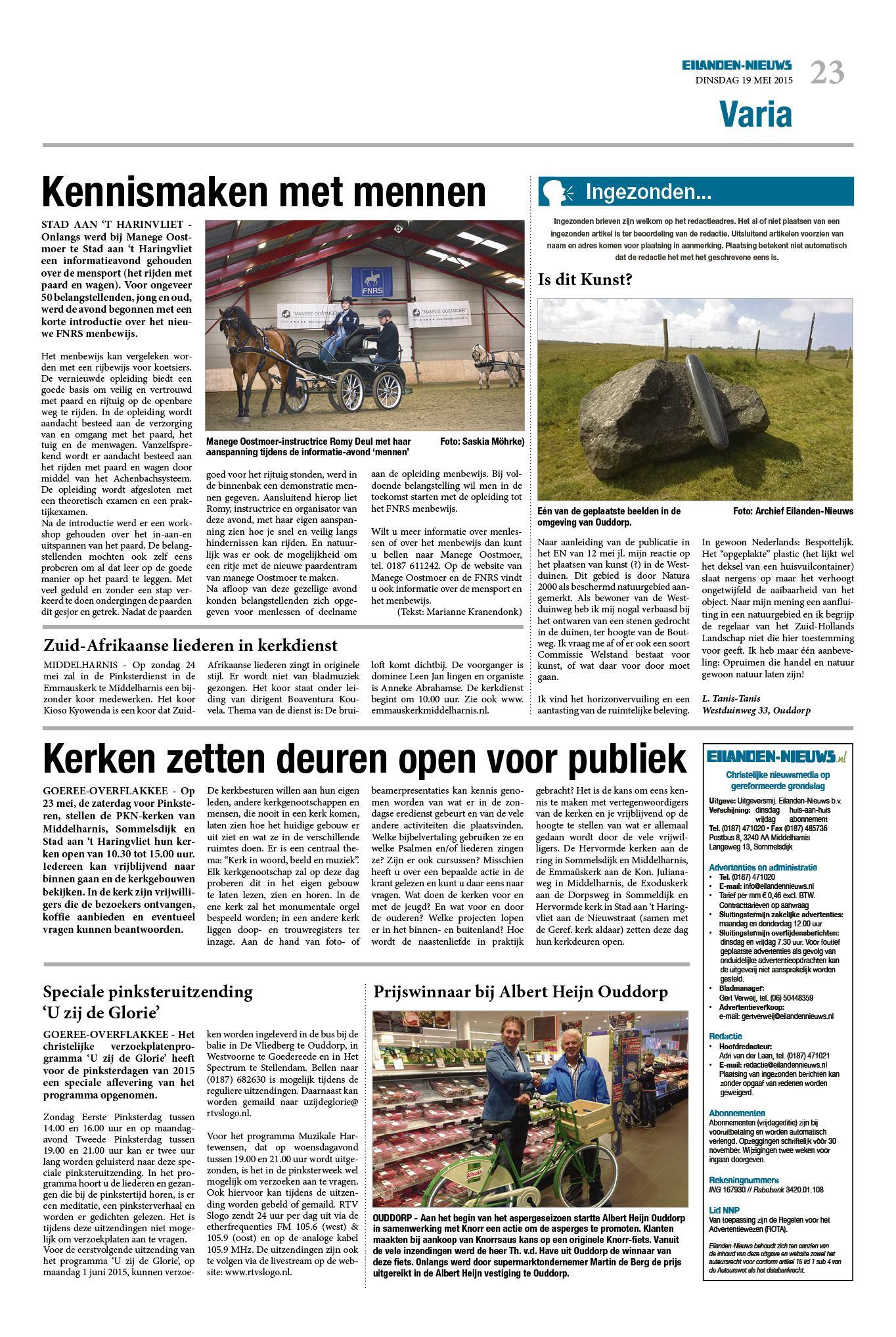 380f999163e Dinsdag Eilanden-Nieuws 19 mei 2015