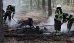 Brand in bos Odiliapeel