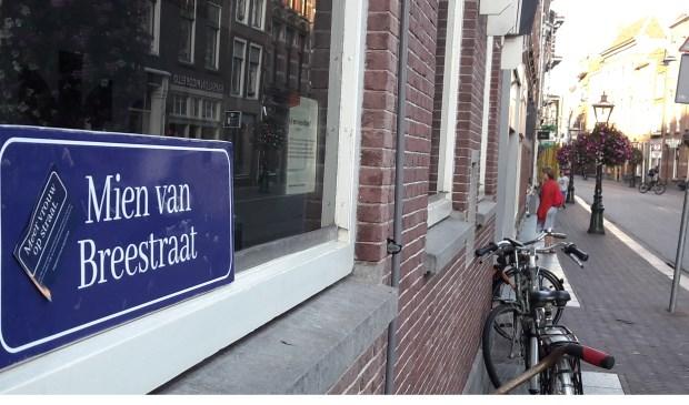 In Leiden werd de Breestraat 'hernoemd'.