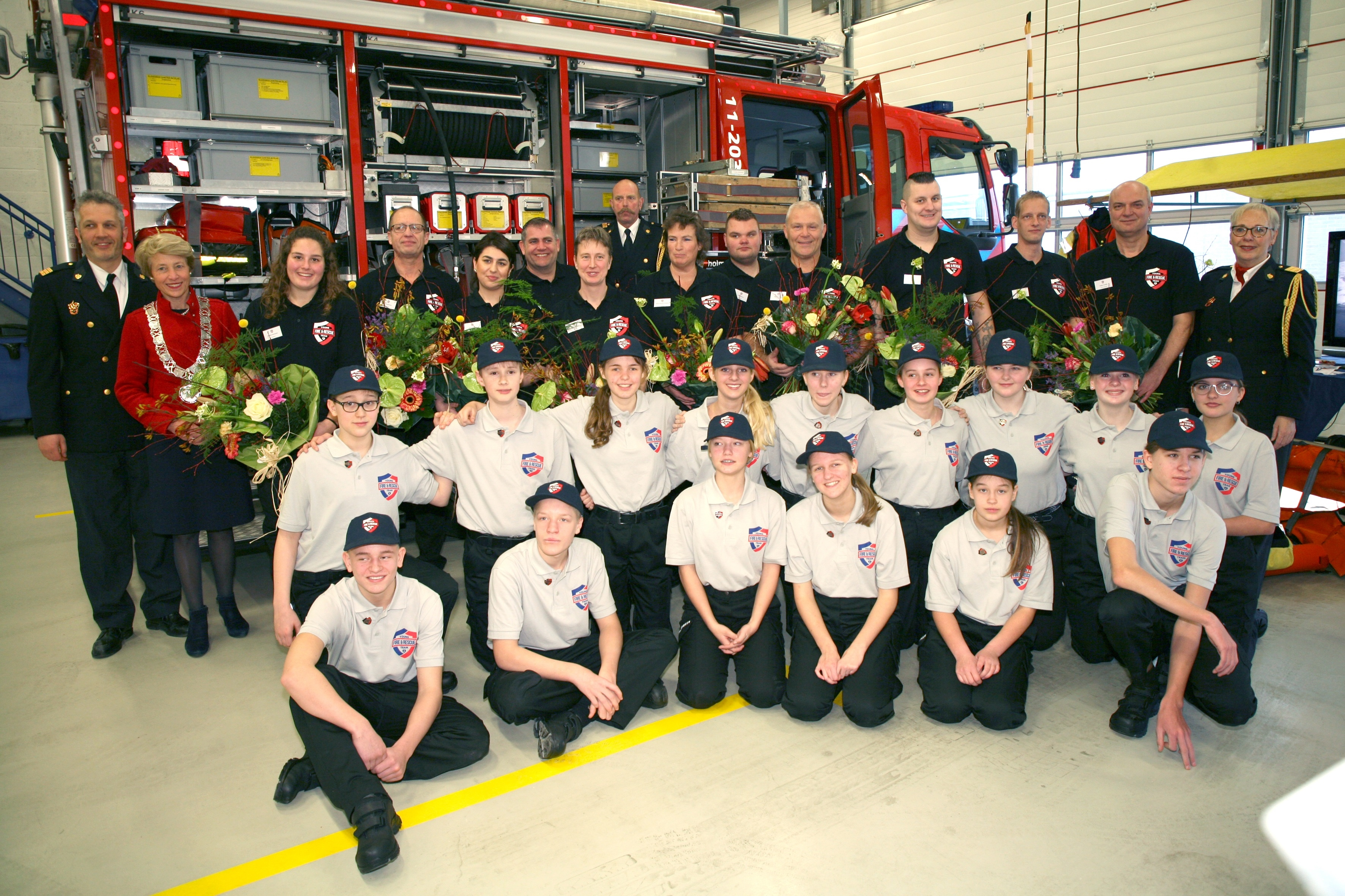 Young Fire and Rescue Team