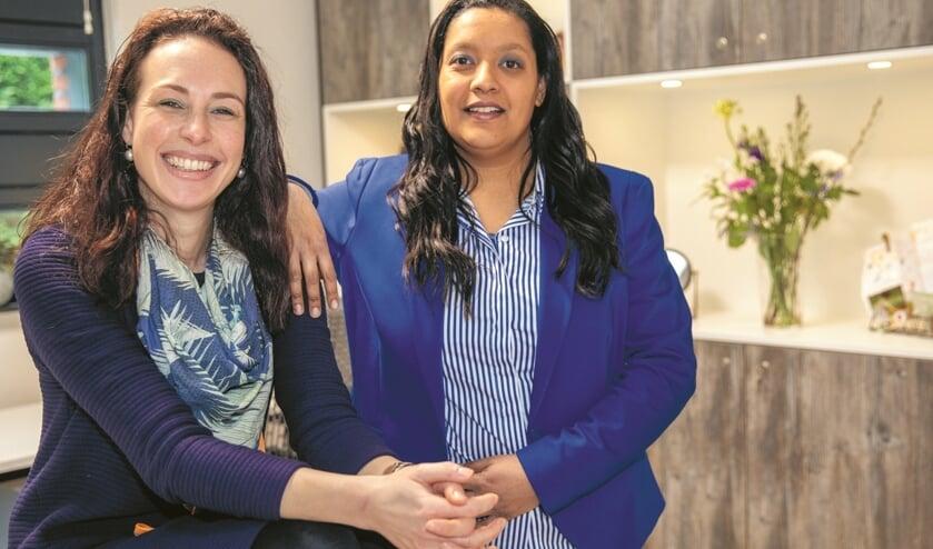 Bianca van den Hurk en Djamilah Baans hebben Dita Witteveen als huisarts vervangen.