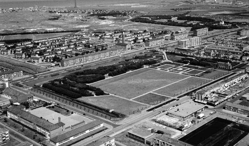 Een luchtfoto van Nieuw Den Helder. (Foto: Helderse Historische Vereniging)