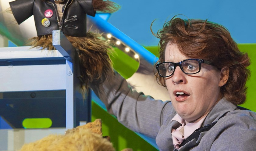 Kim van Zeben speelt 'Eendje' in het Scagon.
