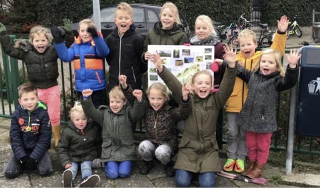 De kinderen zijn blij dat de Beleeftuin Pluto er nu echt gaat komen.