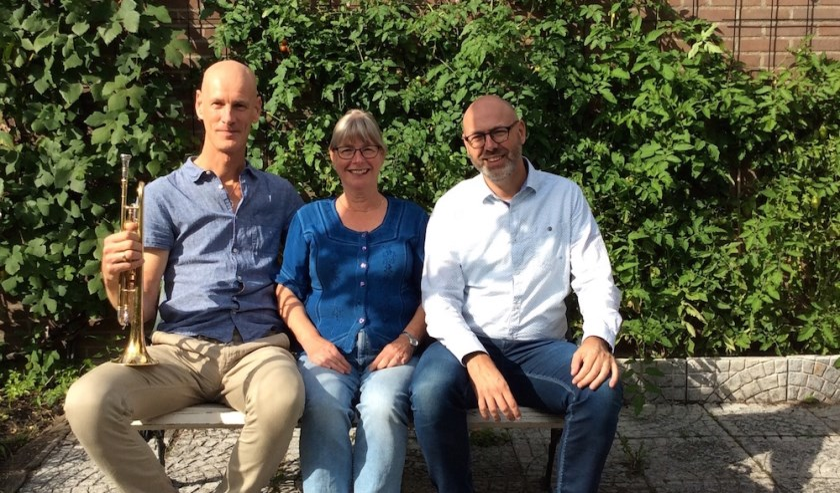 Frank Anepool, Marianne Hoogenboom en Ruud Luttikhuizen.