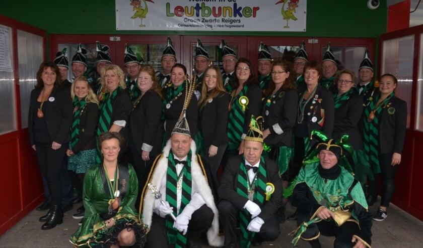 Carnavalsvereniging Groen-Zwarte Reigers bestaat dit jaar elf jaar en dat moet gevierd worden.