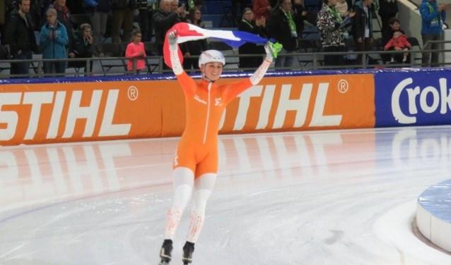 Wereldkampioen Irene Schouten is lijstduwer bij NatuurlijkmBBW.